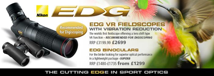 Nikon EDG Fieldscopes and Binoculars