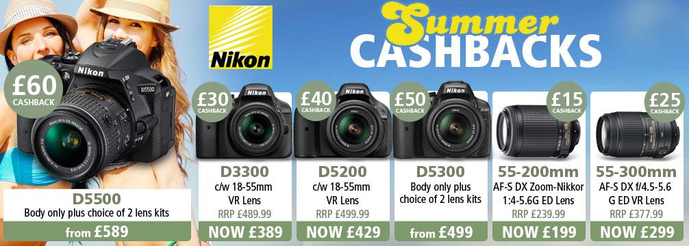 Nikon Summer Cashback Offer