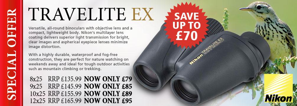 Nikon Travelite EX Compact Binoculars
