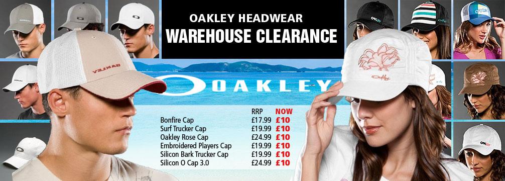 Oakley Headwear Summer Specials