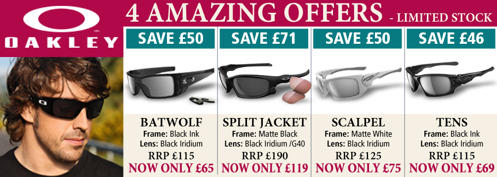 Oakley 4 Amazing Offers