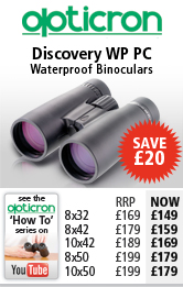 Opticron discovery WP PC Waterproof Binoculars