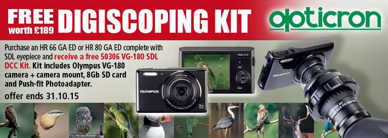 Opticron Free Digiscoping Kit