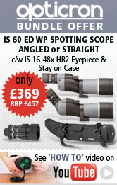 Opticron IS 60 Spotting Scope Bundles