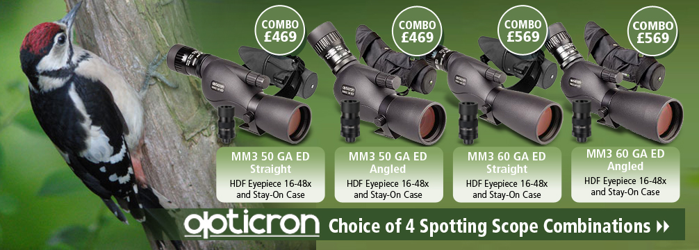 Opticron MM3 GA ED Spotting Scope Bundles