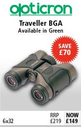 Opticron Traveller BGA 6x32 Binoculars