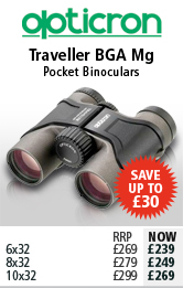 Opticron Traveller BGA Mg Pocket Binoculars