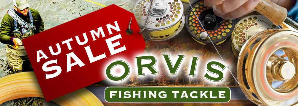 Orvis Autumn Fishing Tackle Sale