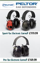 Sport-Tac Electronic Earmuff and Pro-Tac Electronic Earmuff