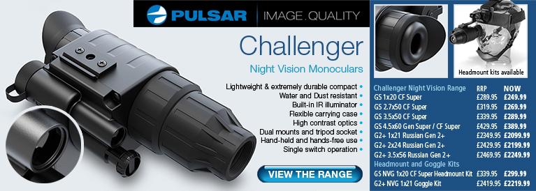 Pulsar Challenger Night Vision Monoculars