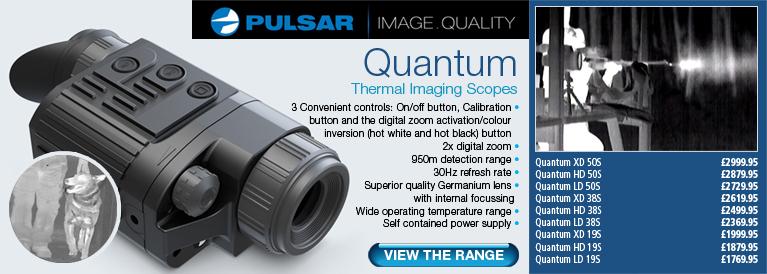 Pulsar Quantum Thermal Imagers