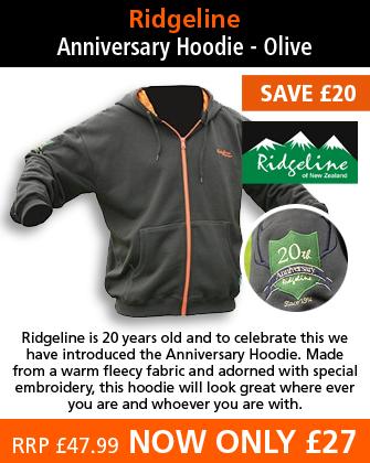 Ridgeline Anniversary Hoodie - Olive