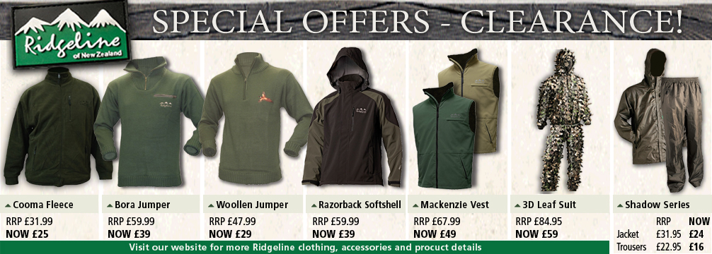 Ridgeline Clothing Sale