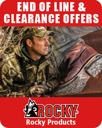 Rocky End of Line and Clearance Offers