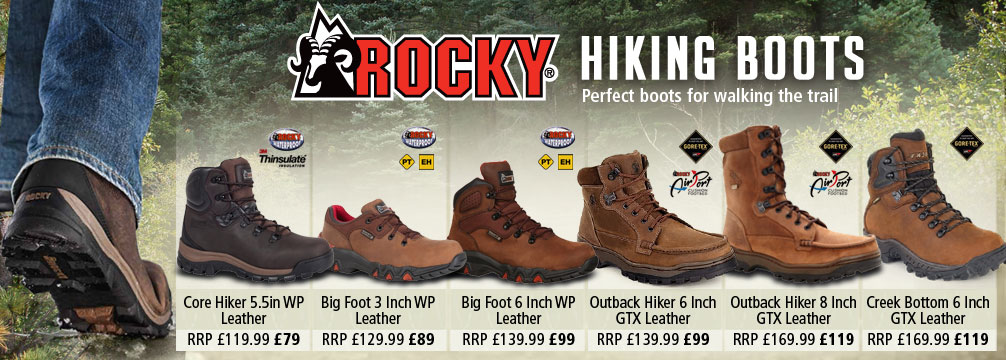Rocky Hiking Boots