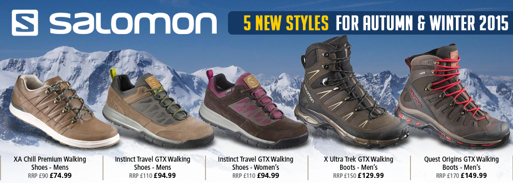 Salomon 5 New Styles