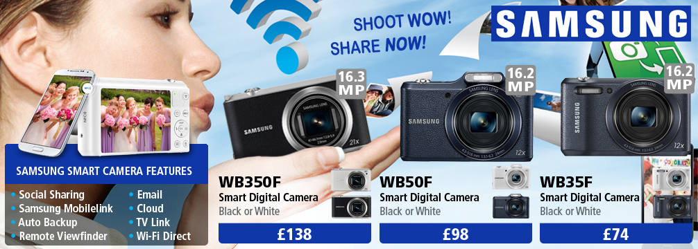 Samsung Smart Compact Cameras