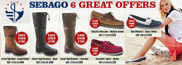 Sebago Footwear Offer
