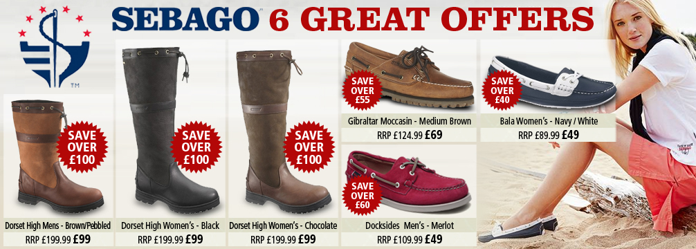 Sebago Footwear Offer