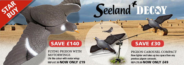 Seeland Pigeon Decoys
