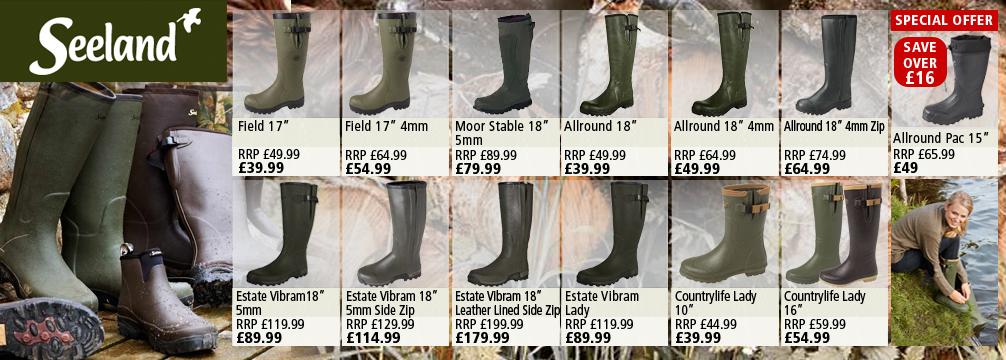 Seeland Wellington Boots