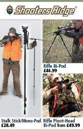 Shooters Ridge Bi-Pods and Mono-Pods