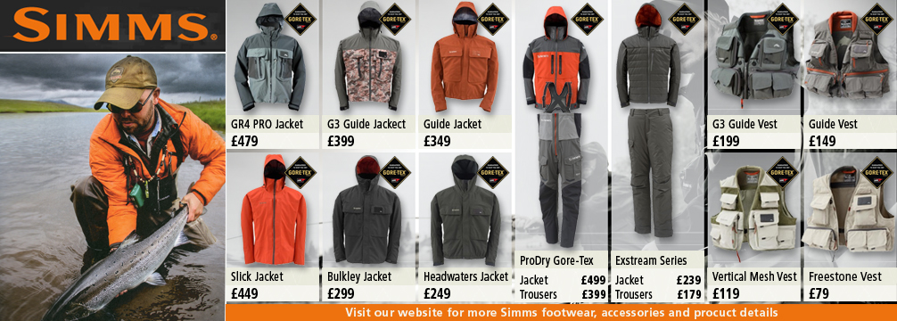 Simms Fishing Clothing