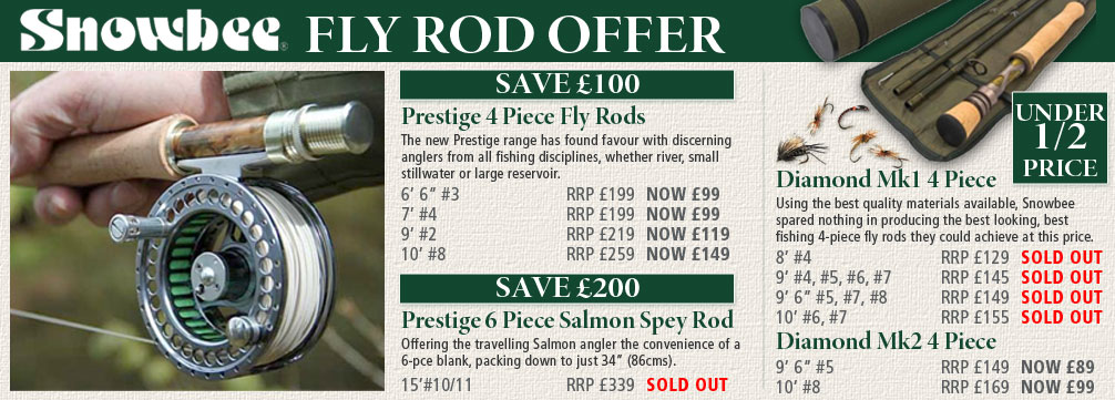 Snowbee Fly Rod Offer
