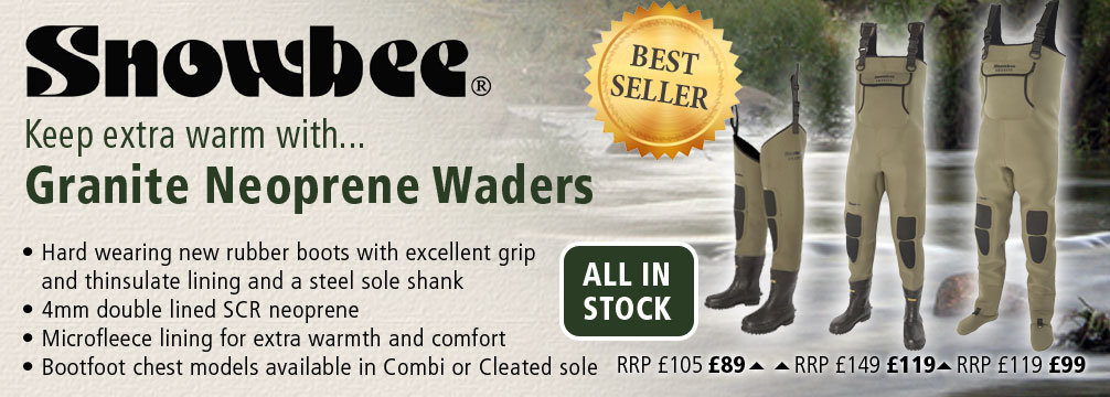 Snowbee Granite Neoprene Waders
