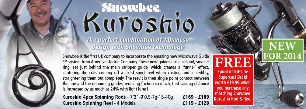 Snowbee Kuroshio Fishing Rods