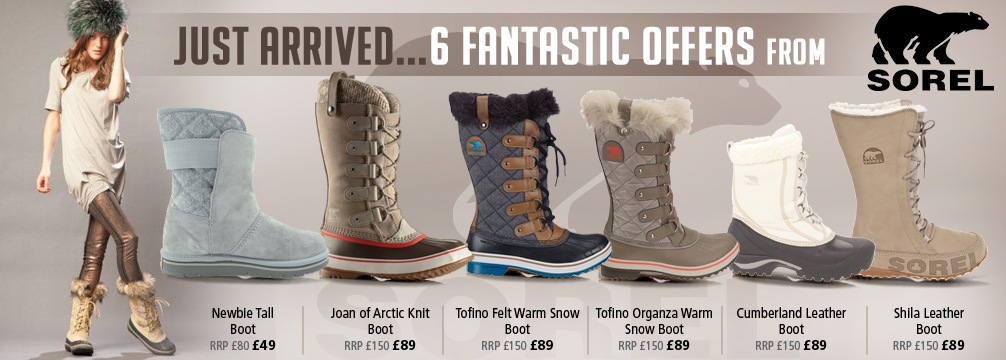 Sorel 6 Womens Boots Offers