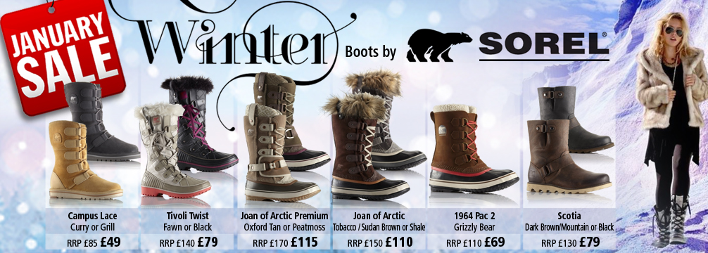 Sorel Womens Winter Boots