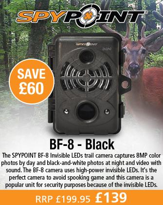 SpyPoint BF-8 Digital Game Surveillance Camera - Black