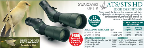 Swarovski ATS & STS Optics