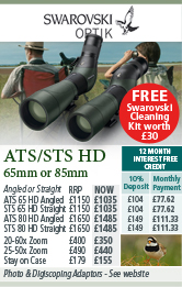 Swarovski ATS / STS HD Spotting Scopes