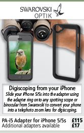 Swarovski PA-I5 Digiscoping Adapter For iPhone 5 / 5S