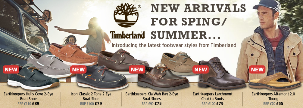 Timberland Spring Summer Shoes