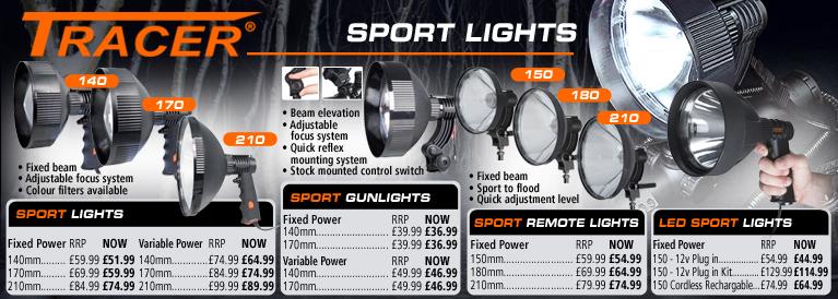 Tracer Gun Lights