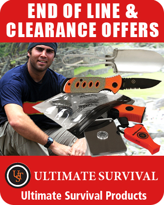 Ultimate Survival End of Line and Clearance Offers