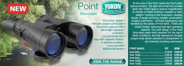 Yukon Point Binoculars