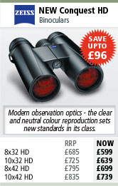 Zeiss New Conquest HD Binoculars