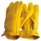 Image of 5etta Classic Line American Driver Deerskin Gloves - Yellow