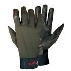Image of 5etta Special Line Leather Shooting Gloves - Green