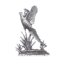 A R Brown Pheasant Pewter Sculpture