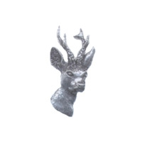 A R Brown Roe Deer Pewter Pin Badge