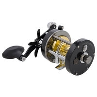 Abu Garcia 7000 CS  Pro Rocket Level Wind Multiplier Reel - Black edition - Right-Handed