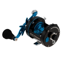 Abu Garcia Ambassadeur 6500 C3 CT Blue Yonder Multiplier Sea Reel - Right Handed