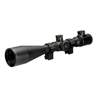 AGS Cobalt Redi-Mount 6-24x50 IR Rifle Scope
