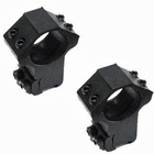 AGS Sapphire Scope Mounts - 1 Inch - DS - High (Z7414)