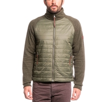Aigle Beakeren Mixed Fabric Fleece Jacket